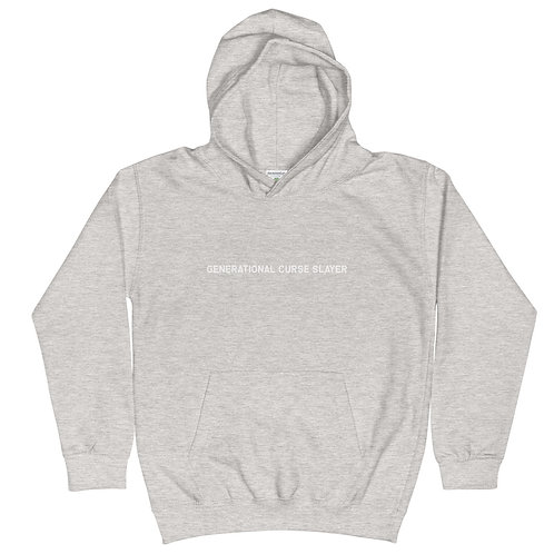 Youth Generational Curse Killer Hoodie (White Logo)