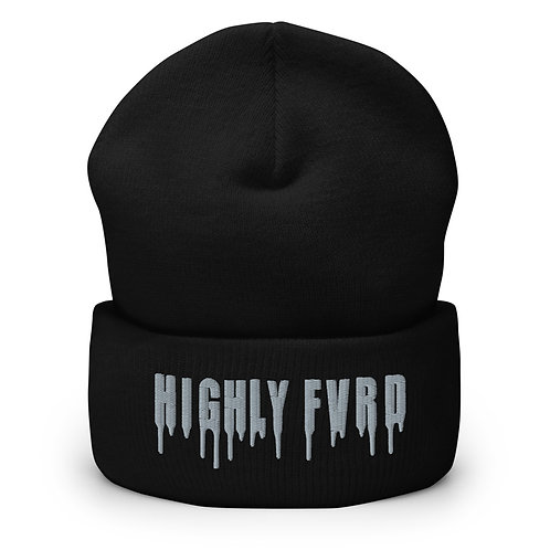Highly FVRD Cuffed Beanie (Gray Logo)
