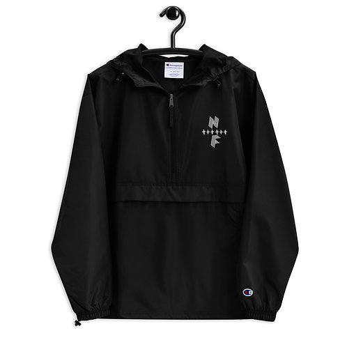 Highly FVRD Embroidered Champion Jacket (White Logo)