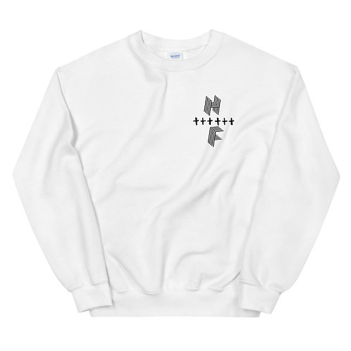 Highly FVRD Cross Sweatshirt (Black Logo)