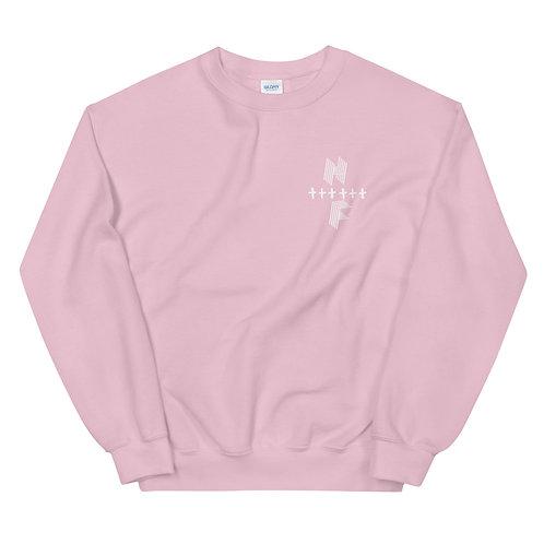 Highly FVRD Cross Sweatshirt (White Logo)