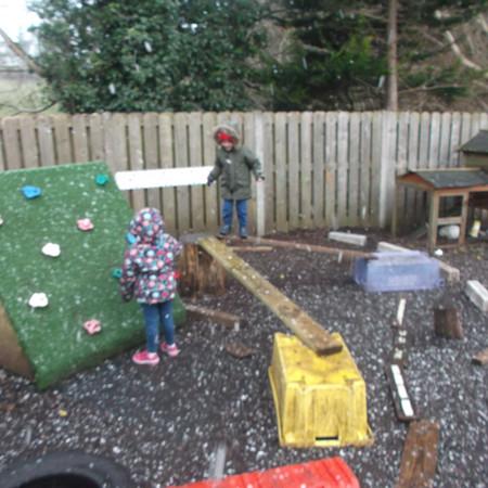 Enclosed Playground