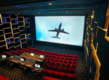 AURO 3D: il layout dei diffusori nella sala cinema.