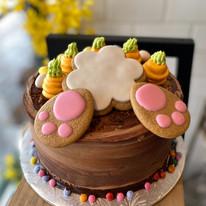 chocolate bunny butt