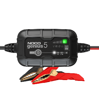 GENIUS5- 5A Battery Charger