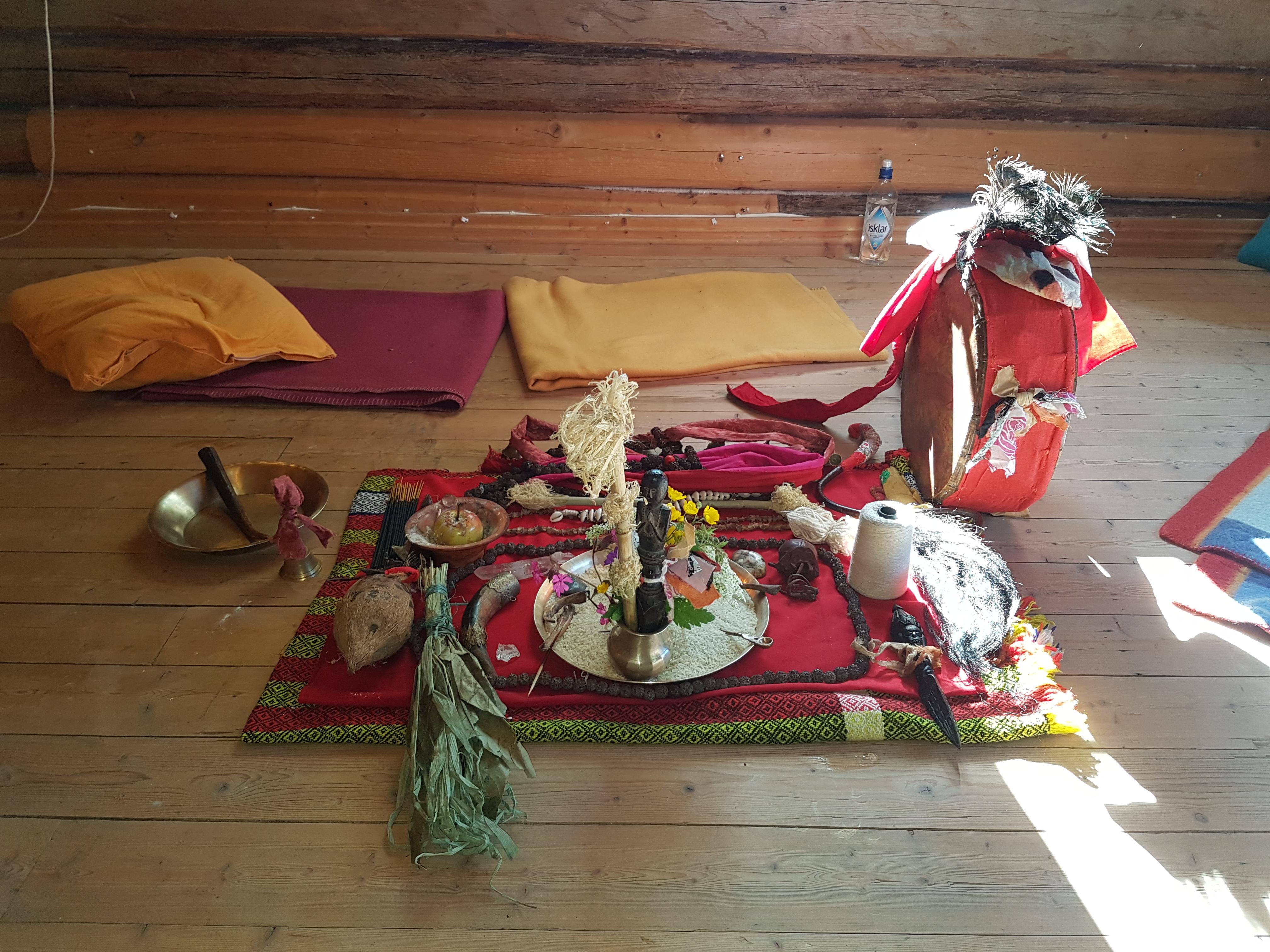 Ritualer med sjamaner