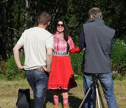 Intervju utenlandsk media
