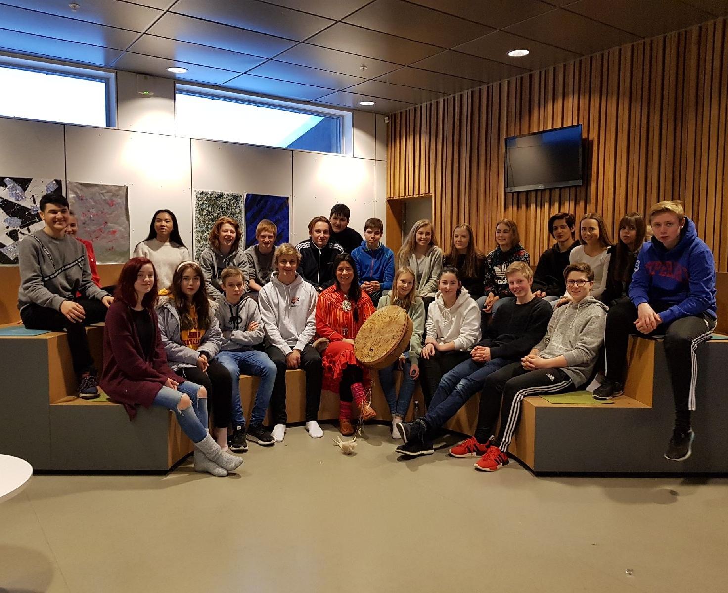 Ungdomskole i Hokksund