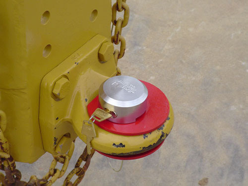 Trailer Pintle Lock