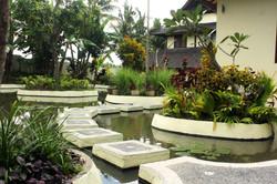Lotus pond Stepping Stones
