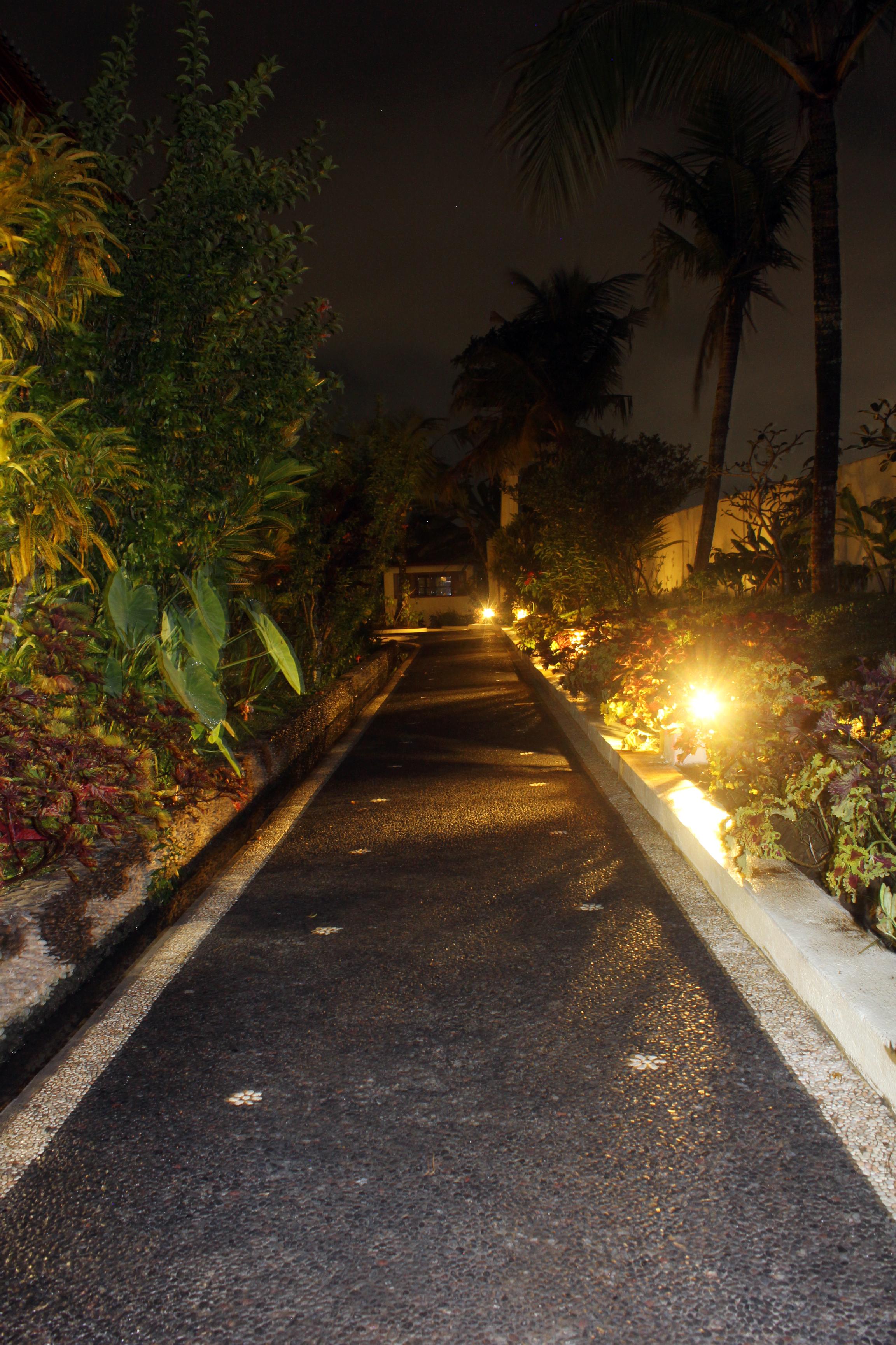 Well lit pathways