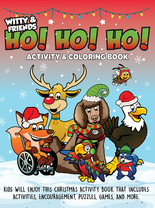 Witty & Friends - Christmas Activity & Coloring Book