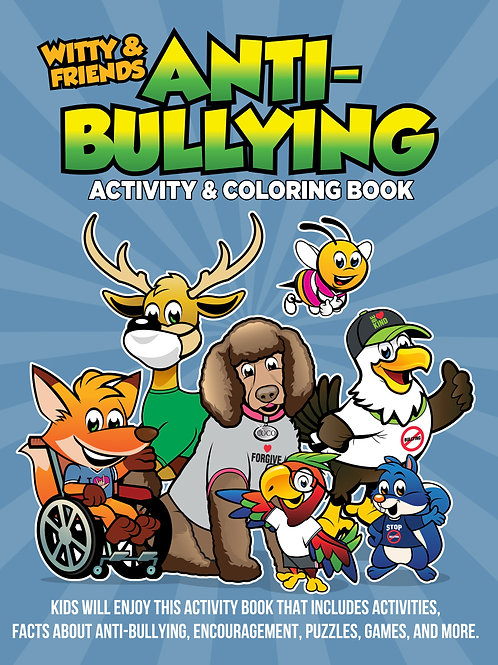 Witty & Friends - Anti-Bullying Activity & Coloring Book