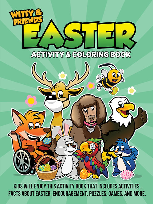 Witty & Friends - Easter Activity & Coloring Book