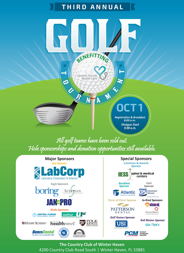 Website Save the Date - 3rd Annual Golf