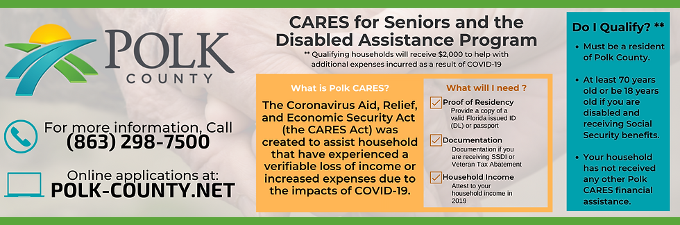 Website Slider - Polk County Cares Act (