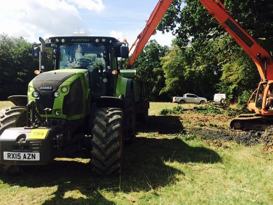 plant hire, plant hire kent, tractor