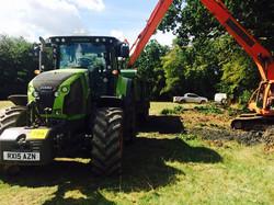 plant hire, plant hire kent, tractor