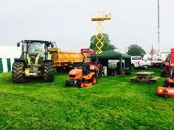 plant hire, heathfield show