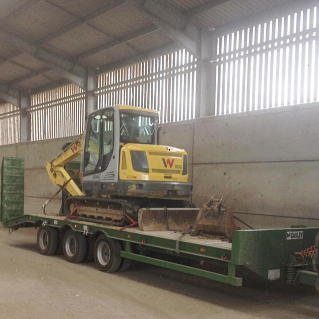 Tri Axle Low Loader