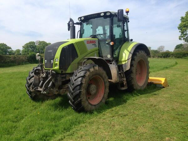 Class Tractor & Flail Mower