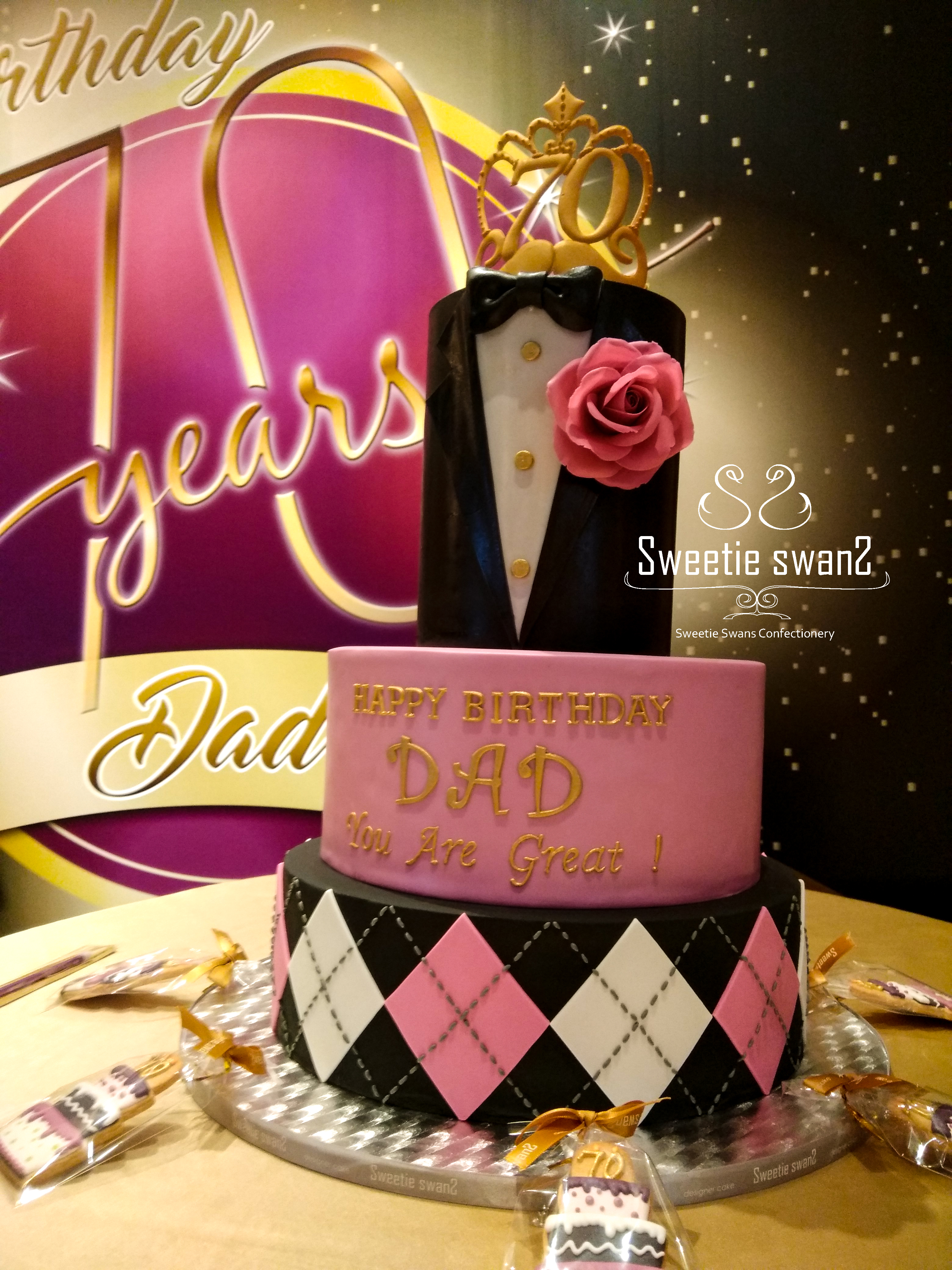 Tuxedo cake 70-1