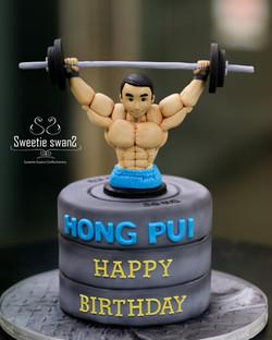 Workout cake 20200524-1
