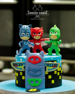 PJMask cake 20200107