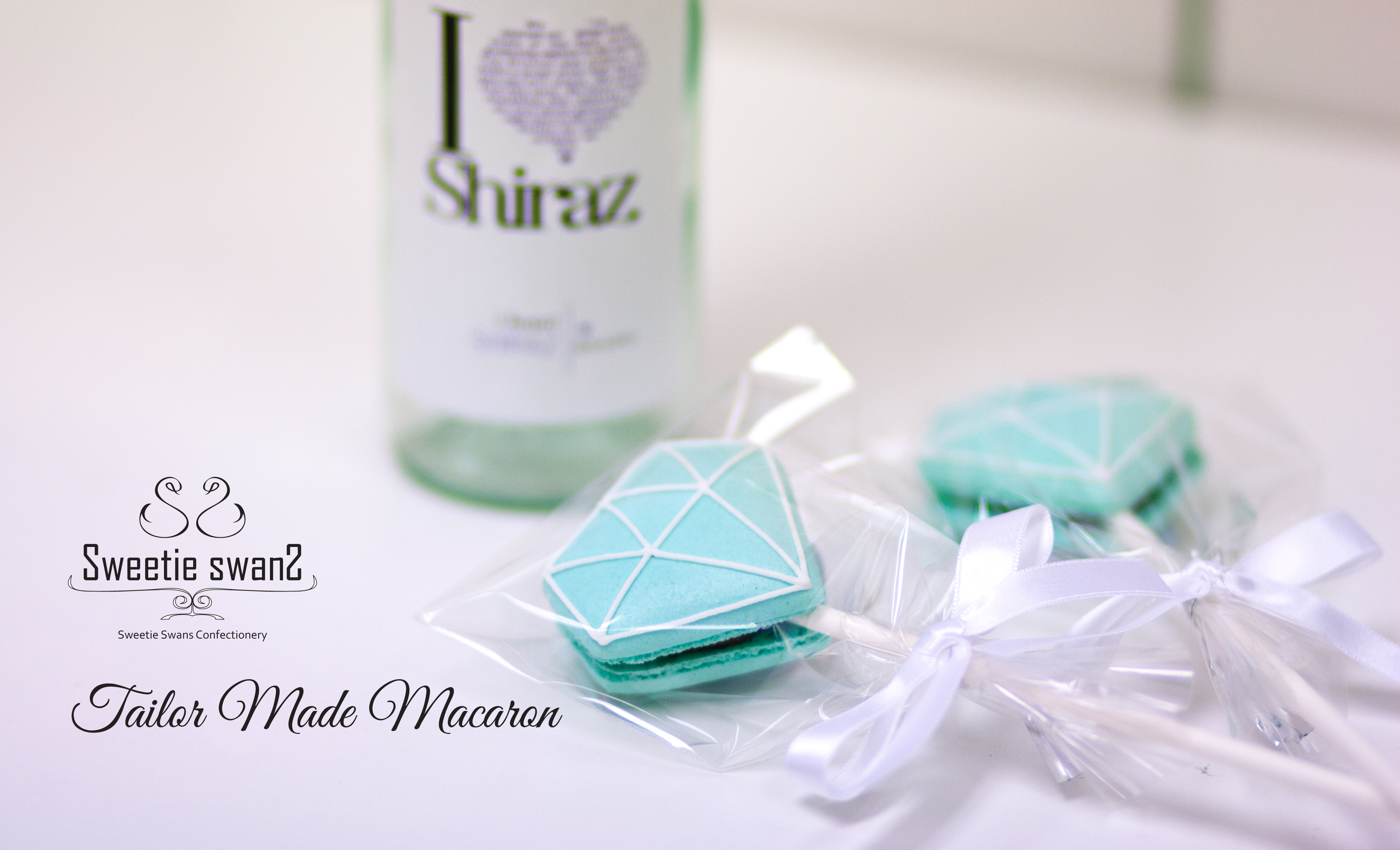 Diamond macaron