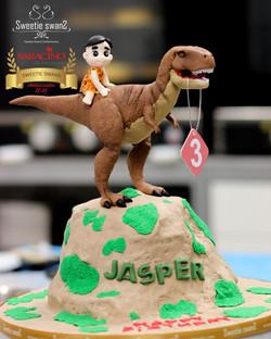 T rex cake-1