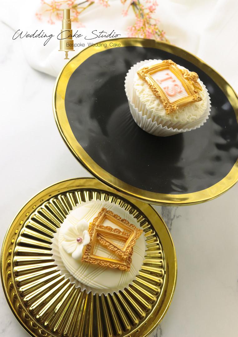 Elegant cupcakes