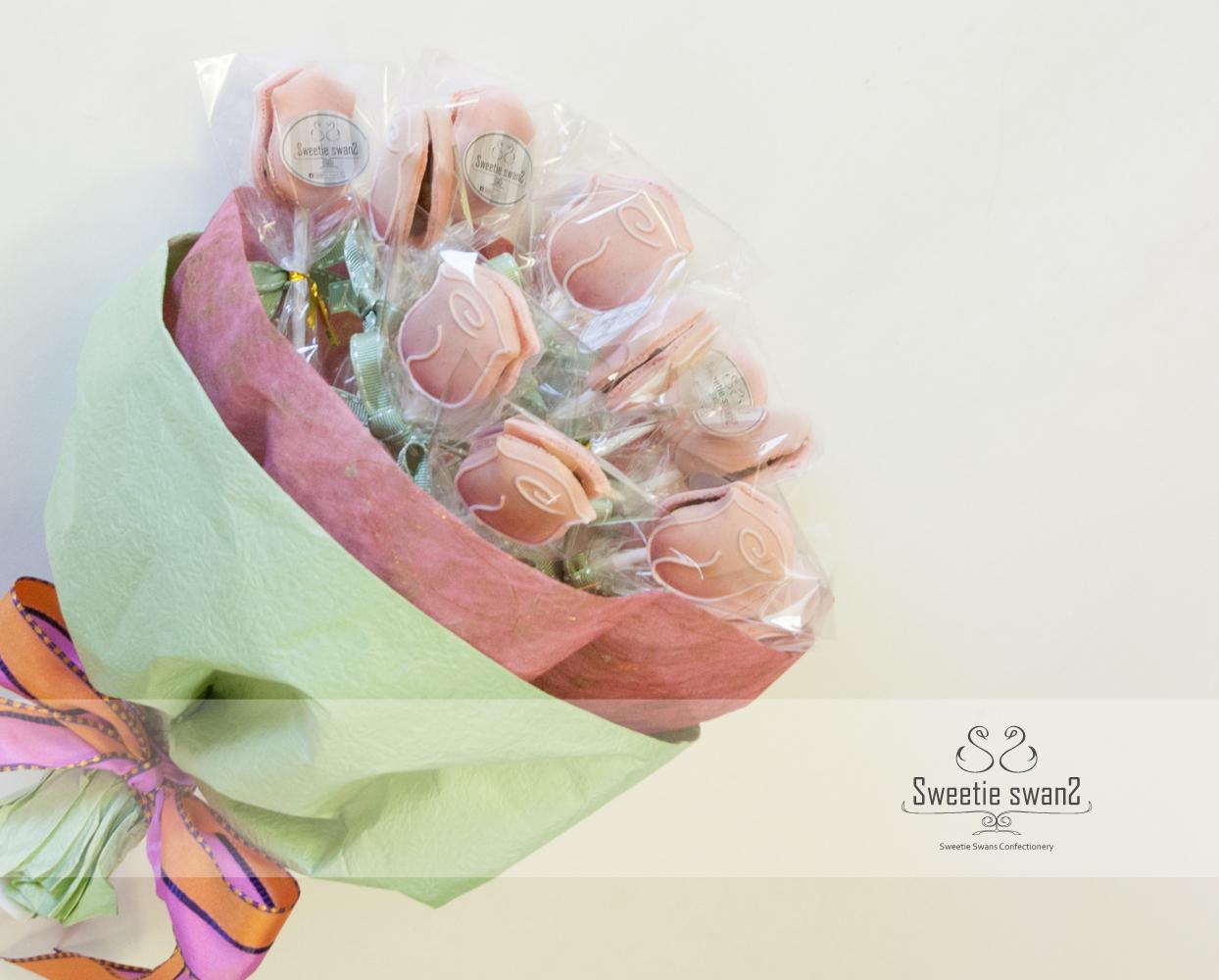 Macaron rose bundle-small