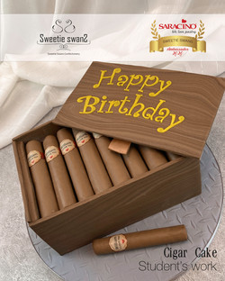20210129 student cigar cake-2