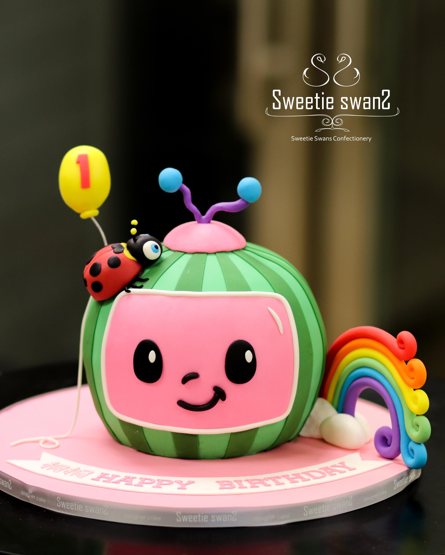 Cocomelon cake 20200517-1