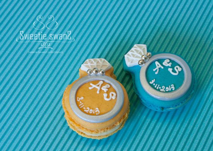 Diamond Ring Macaron