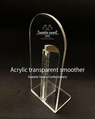 Acrylic transparent smoother.jpg