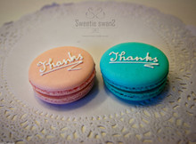 Macaron with Thanks!