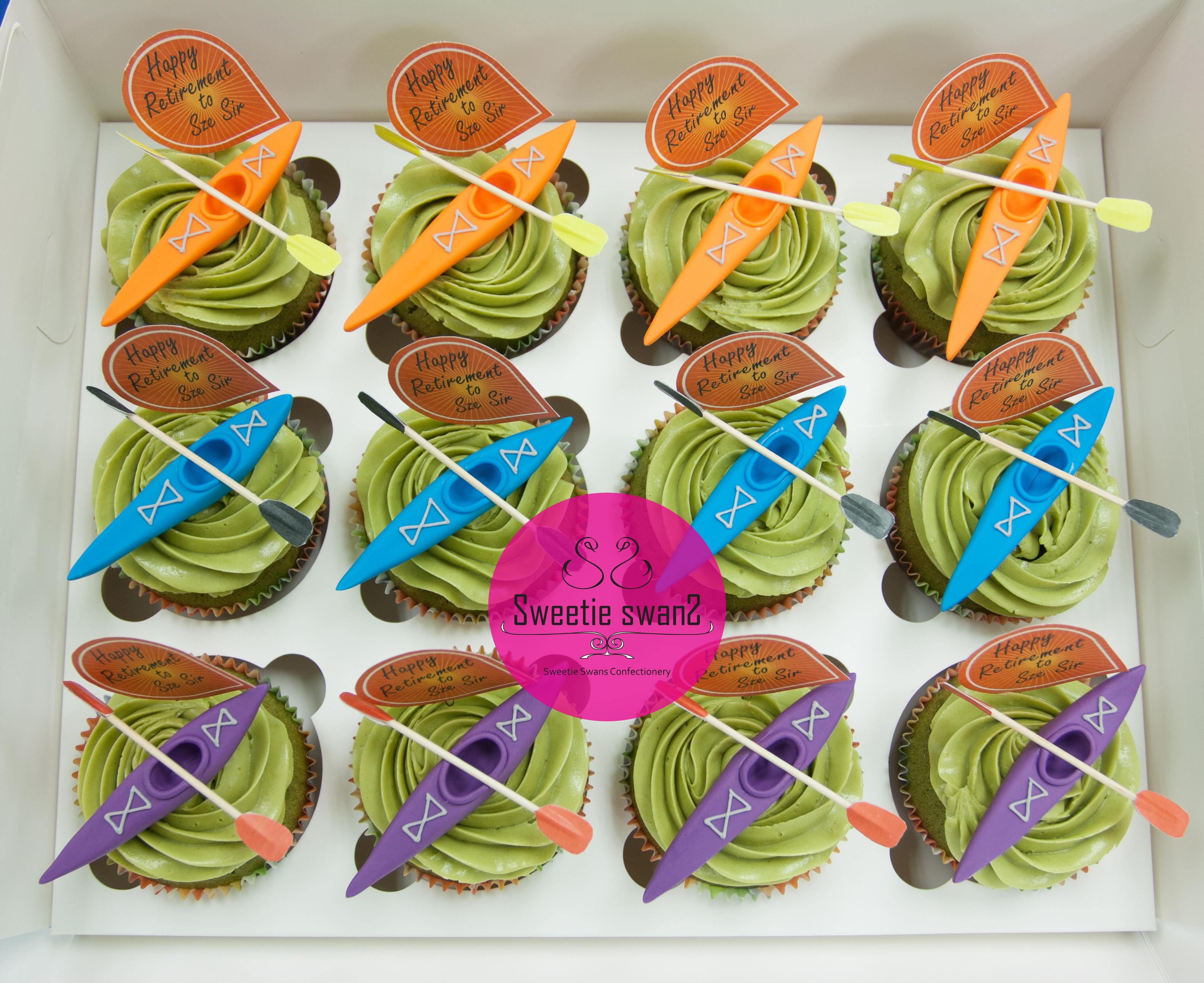 Kayak cupcake-2