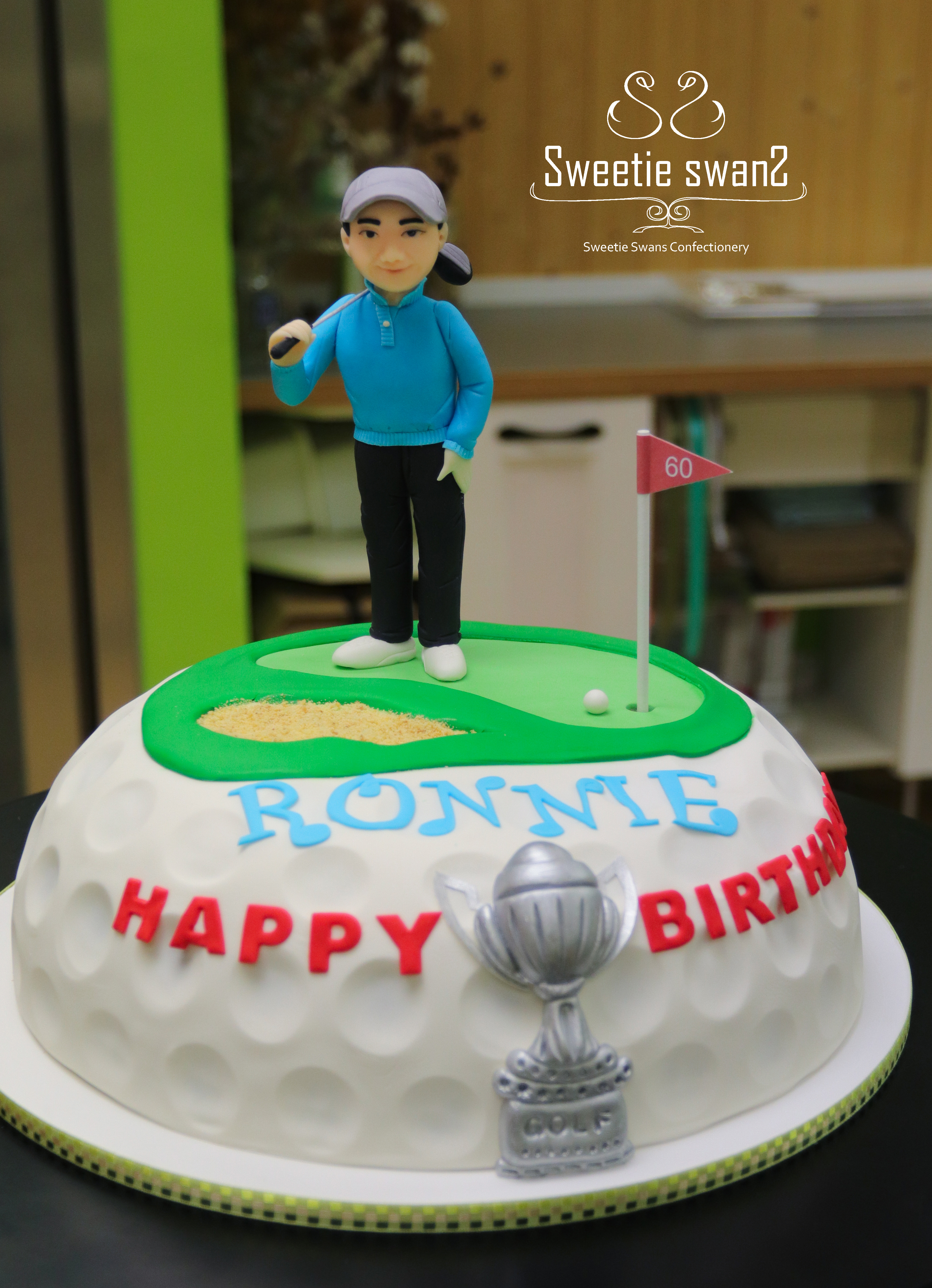 Golf cake-1