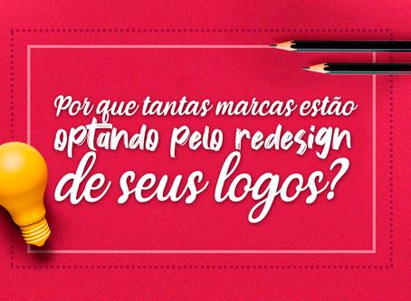 Por que tantas marcas estão optando pelo redesign de seus logos?