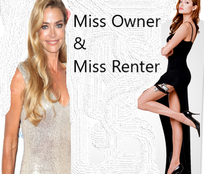 Owner (Denise Richards) vs Renter (Angelina Jolie)