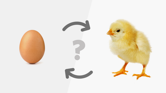 Chicken-and-Egg Dilemma