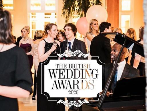 British Wedding Awards 2020 Nomination
