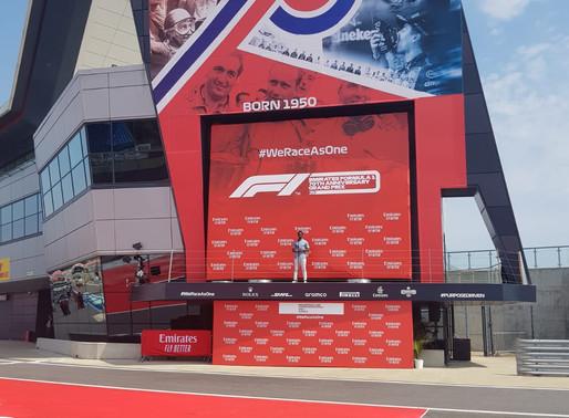Formula 1 Grand Prix 70th Anniversary - UK National Anthem - Jai Amore