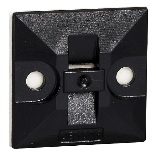 DXN3200N Bases Adhesivas Negras Caja x 100 Uni.