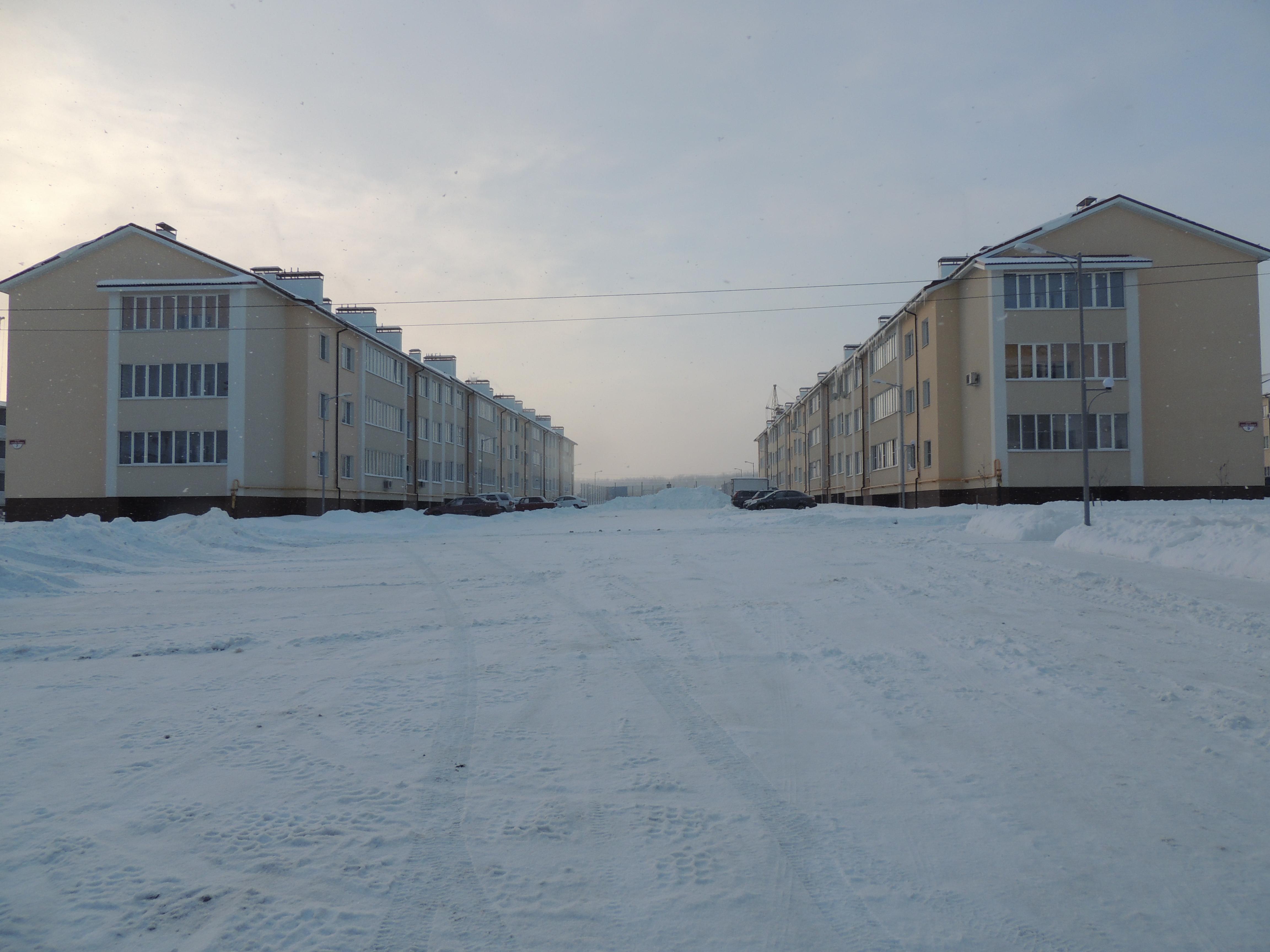 мкр Рождественский, январь 2017г.