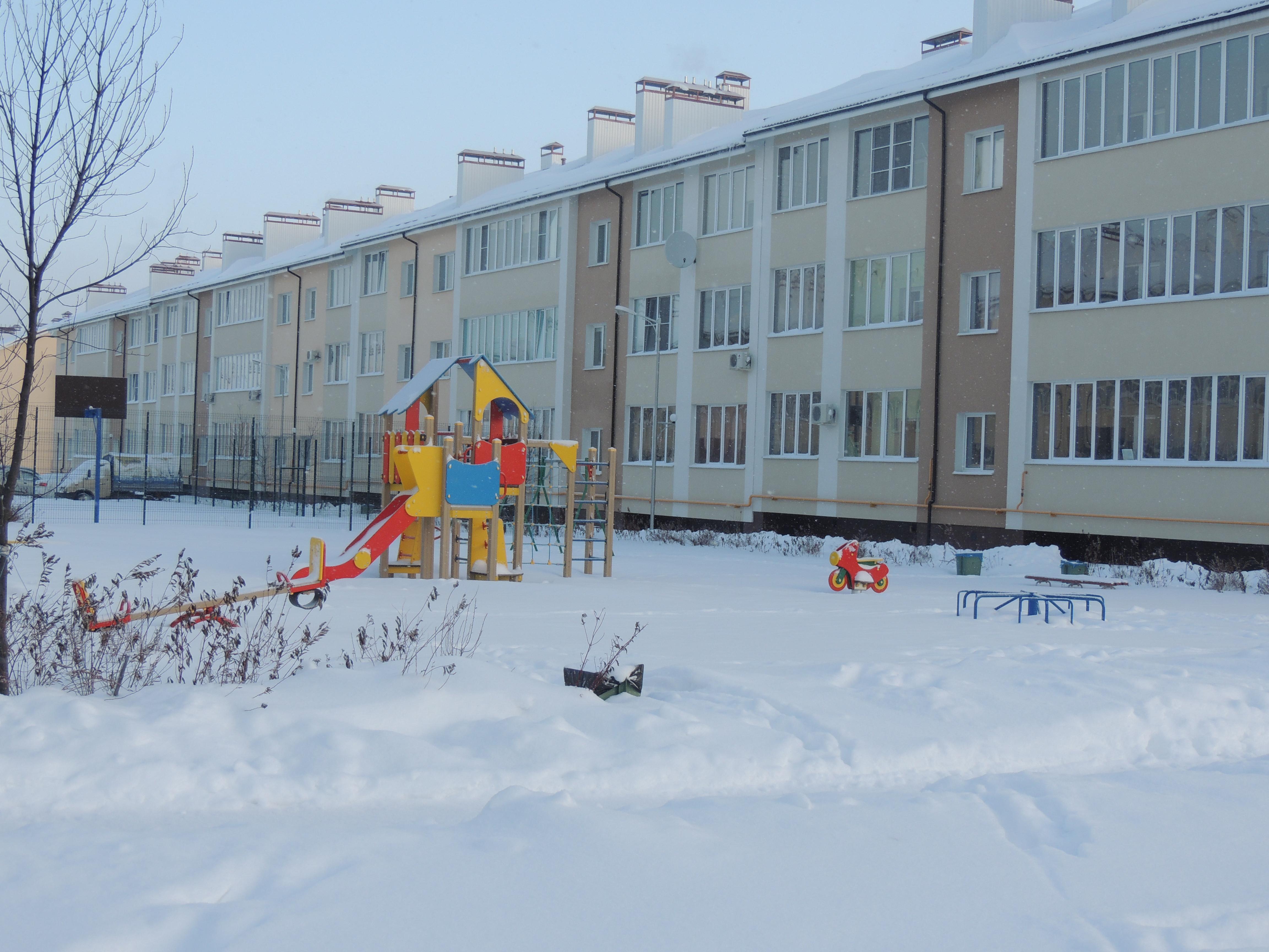 мкр Рождественский, январь 2017г.,