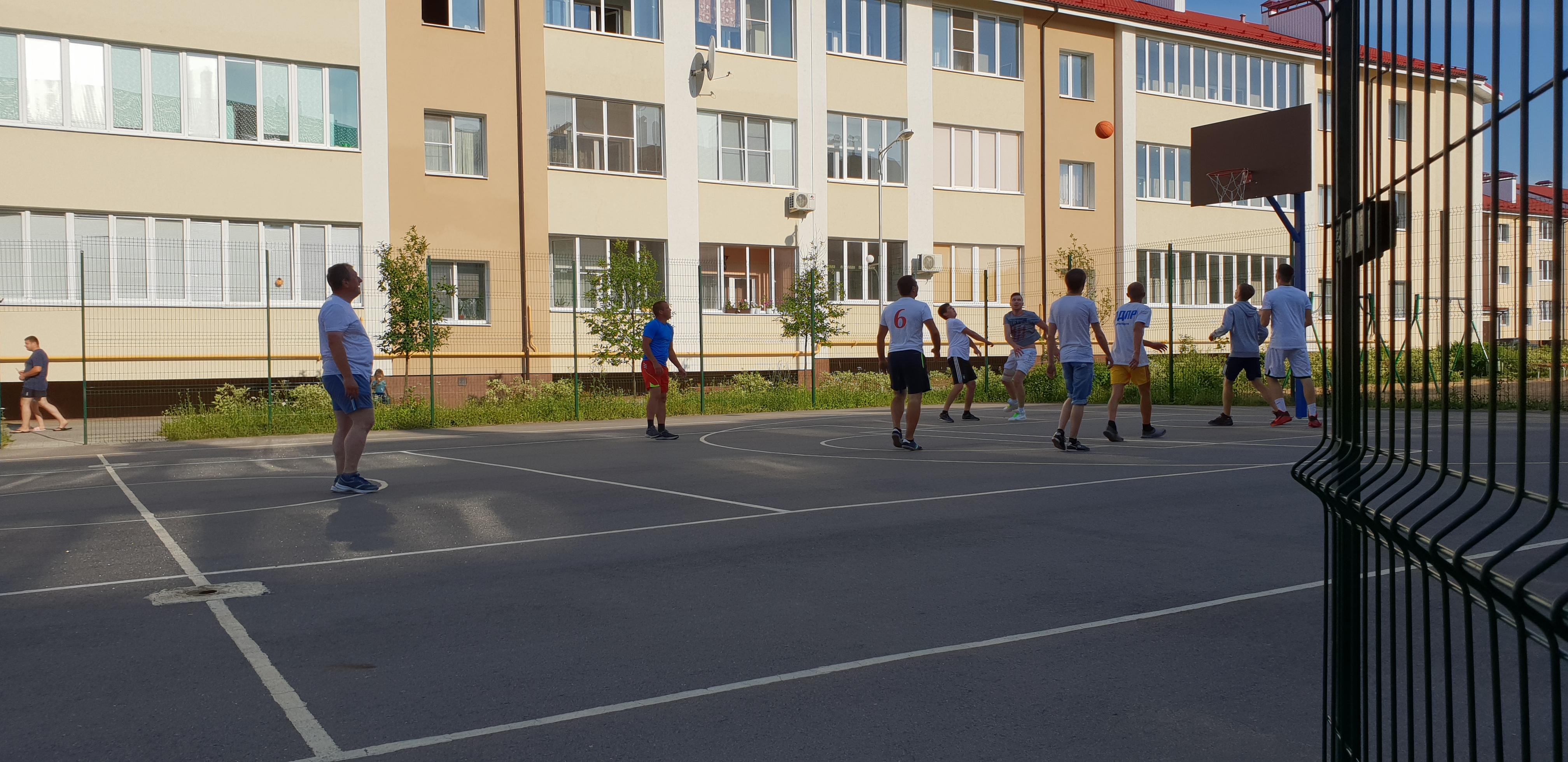 Турнир по баскетболу  июль 2018г.