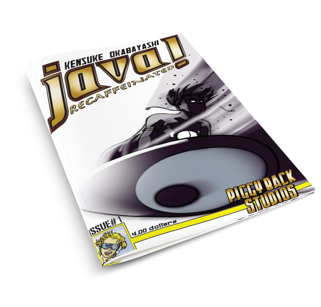 java graphic novel