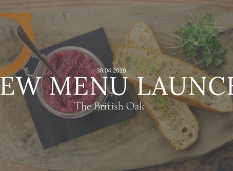 We're welcoming spring with a new menu...